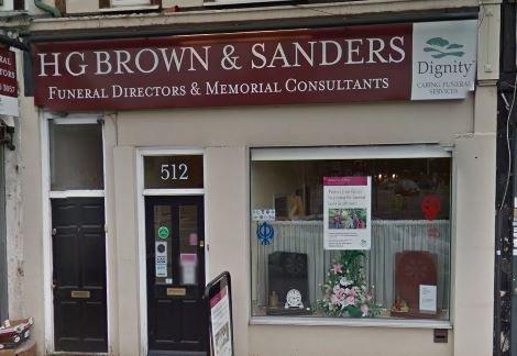 H G Brown & Sanders Funeral Directors