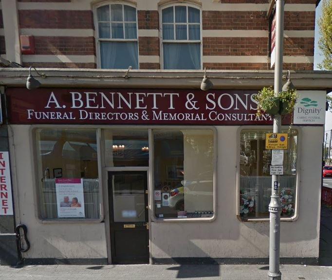 A Bennett & Sons, Walthamstow, London, funeral director in London