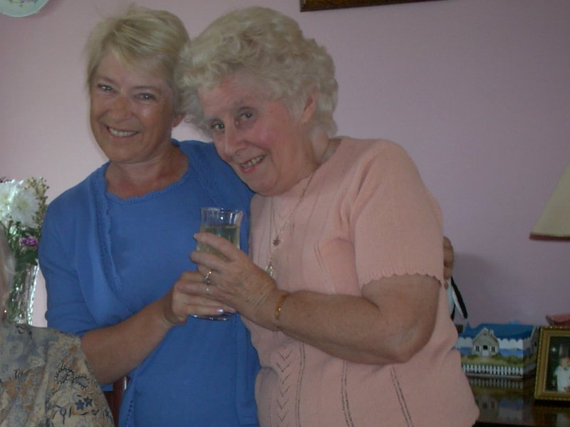 Dear Cousin Rita, we'll miss you and the sunshine you spread to all you met.  Your glass of life was always half-full! Cheers mate! Love, Jackie and Bill