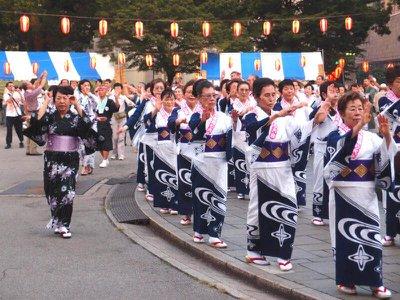 Death around the world: Obon festival, Japan