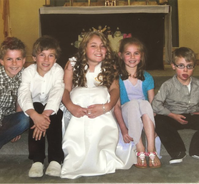 My darling nieces and nephews which are my world