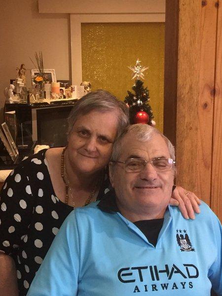 Mum and dad on their last wedding anniversary xxx