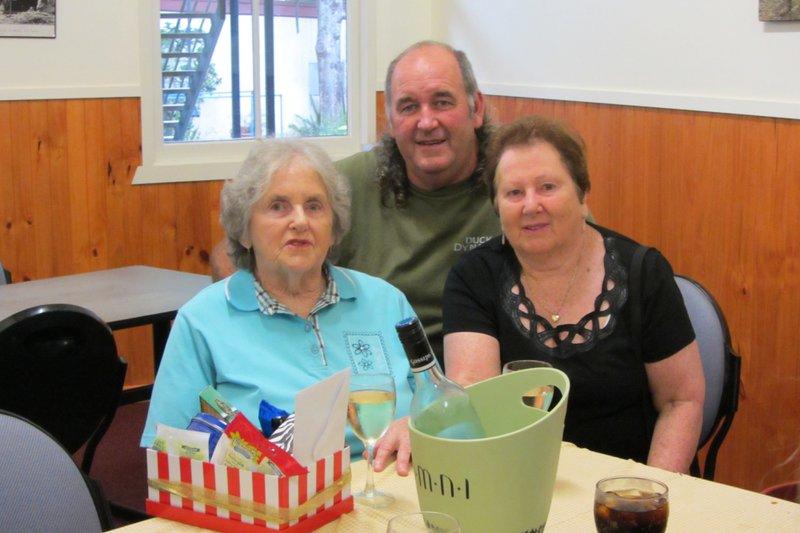 Mum, Paul and Aunty Betty