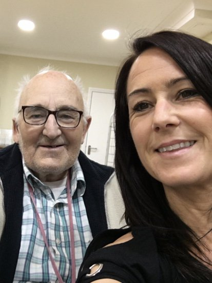 Selfie with Stuart