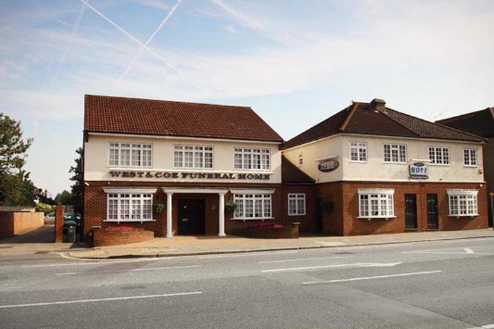 West & Coe Funeral Directors, Dagenham Head Office