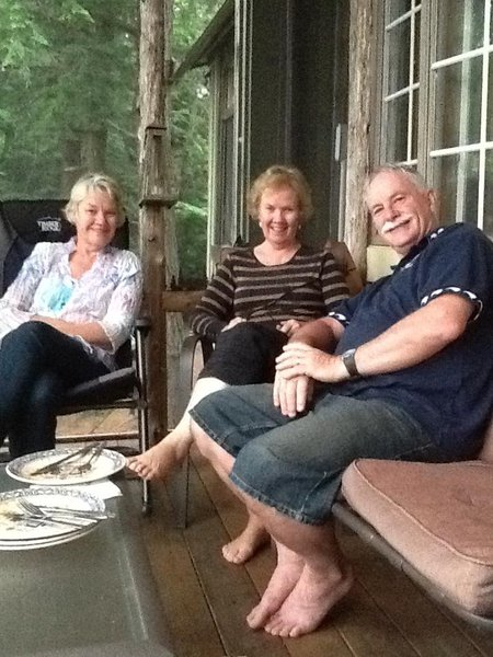 Anne was a beautiful person and our thoughts are with Brian, the girls, and their families.  We had a wonderful time with you in Canada (photo is taken in the
