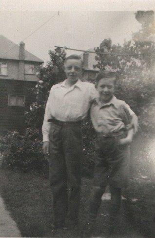 Geoff and Dennis