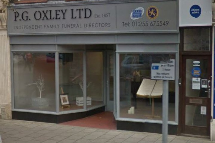 P G Oxley Ltd, Clacton-on-Sea