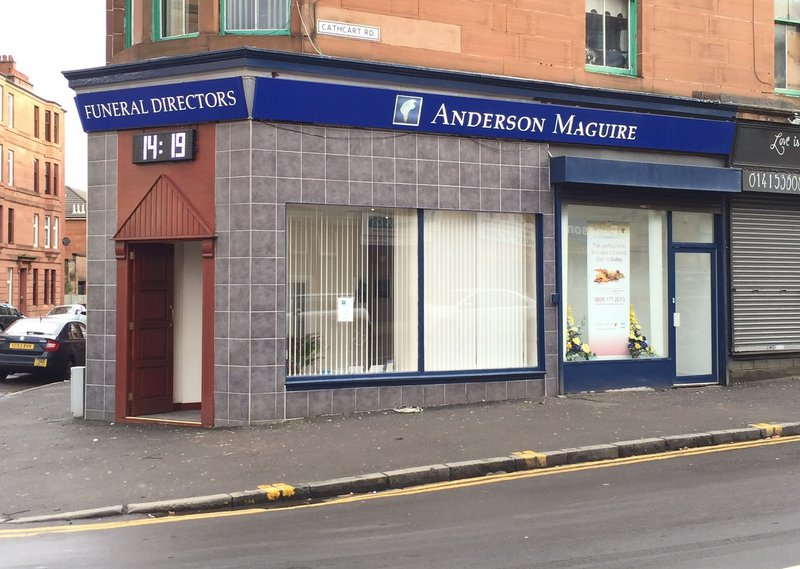 Anderson Maguire Queens Park, City of Glasgow, funeral director in City of Glasgow