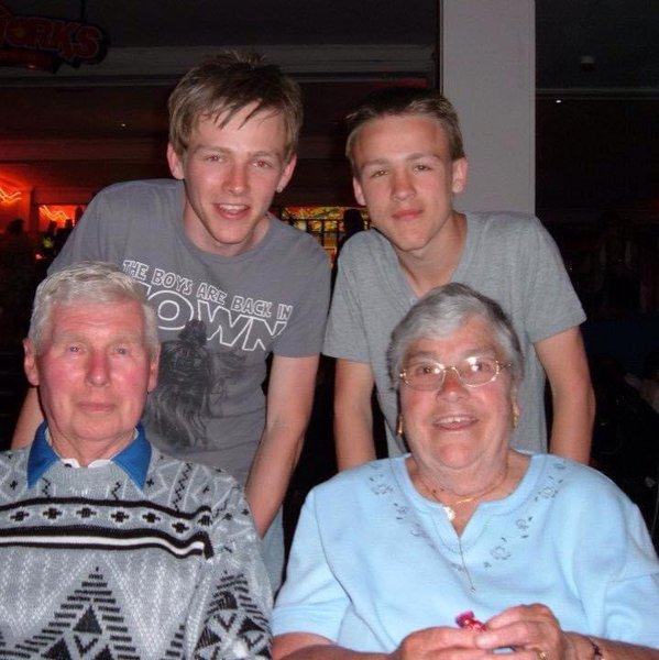 The best nanna and grandad anyone could ever have can't believe you are both gone you meant the world to me and I will miss you both so much
