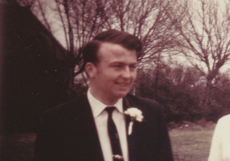 Robert in 1968. Best Man at Stephen's wedding.