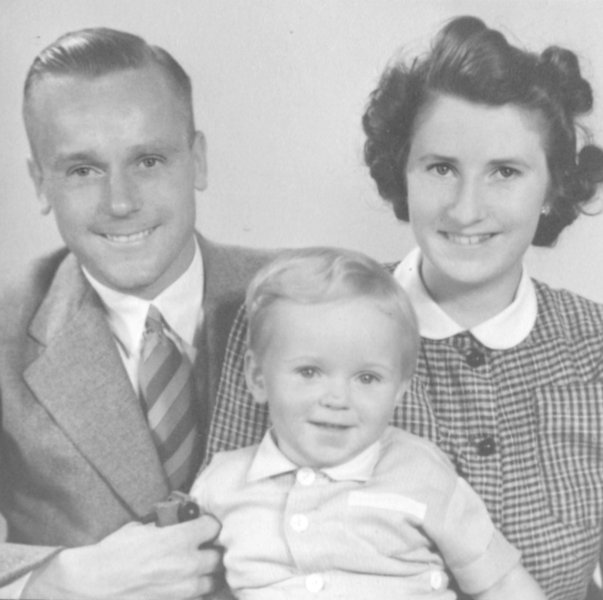Dolby Les, Mike and Connie, circa 1943