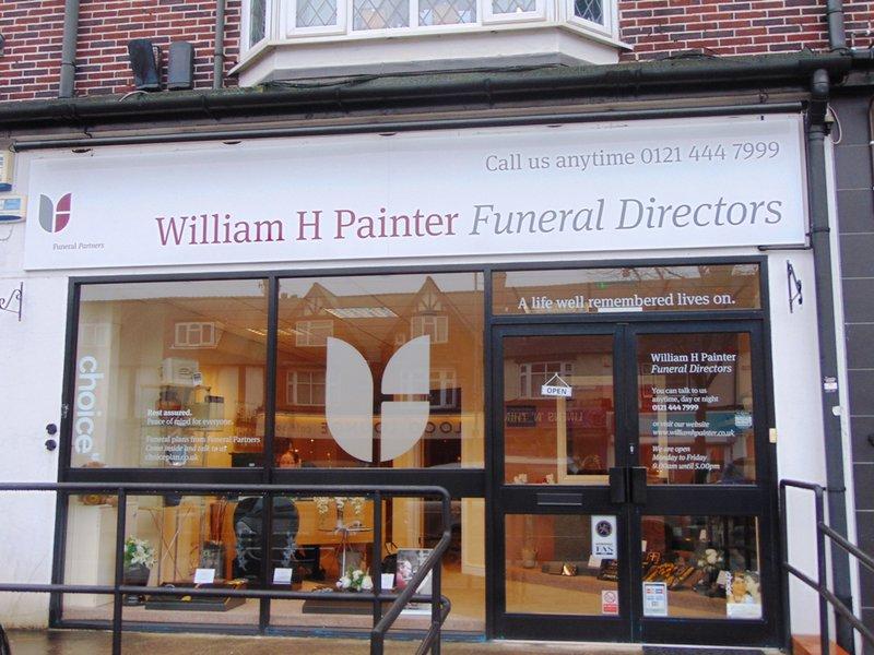 William H Painter Funeral Directors, Kings Heath