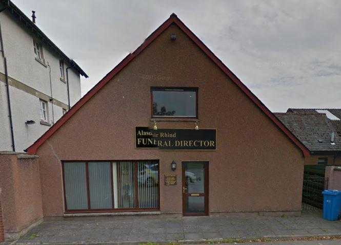 Alasdair Rhind Funeral Directors, Dingwall