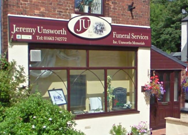 Jeremy Unsworth, High Peak Church Rd