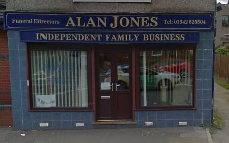 Alan Jones Funeral Directors, Danesbrook House