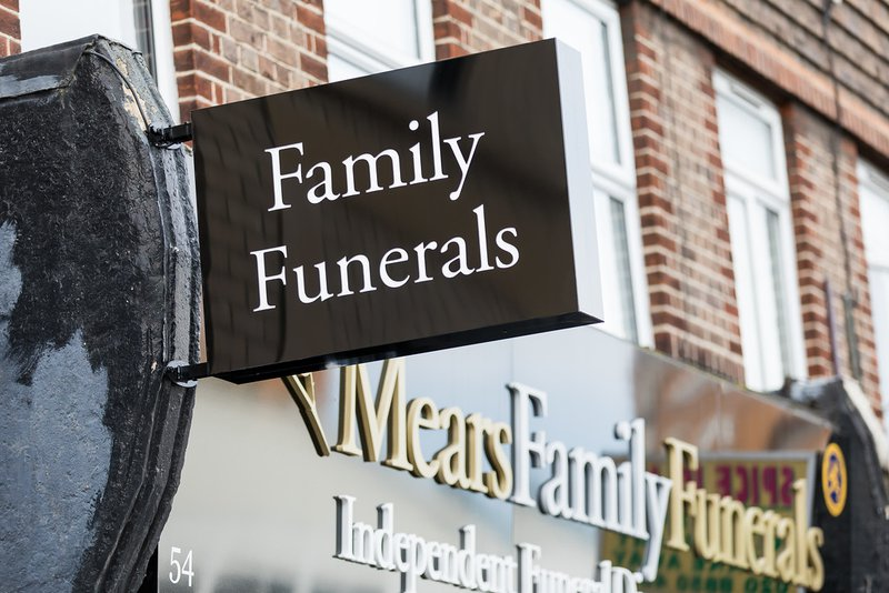 Mears Family Funerals, Eltham Branch, London, funeral director in London