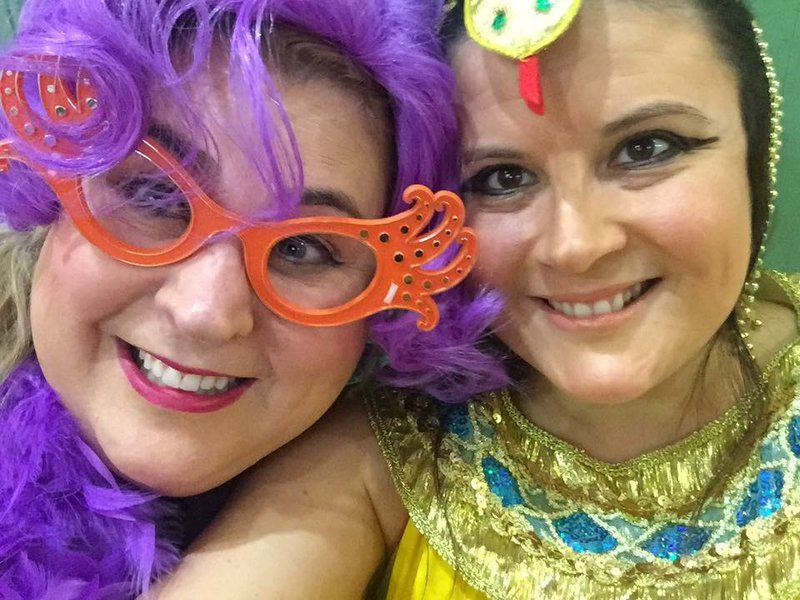 The best Dame Edna ever! A weekend away to remember! Love you Wendy, Gaye x