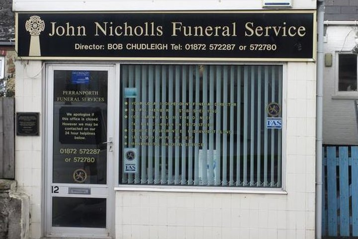 John Nicholls Funeral Service