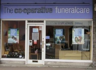 Co-operative Funeralcare (Midcounties), Dudley
