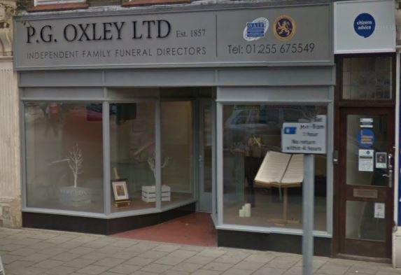 P G Oxley Ltd, Clacton-on-Sea