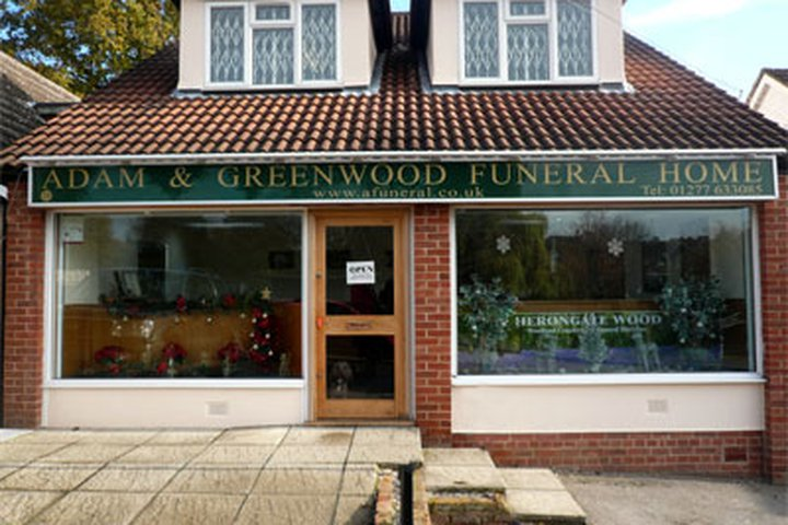 Adam & Greenwood Funeral Homes LLP, Billericay