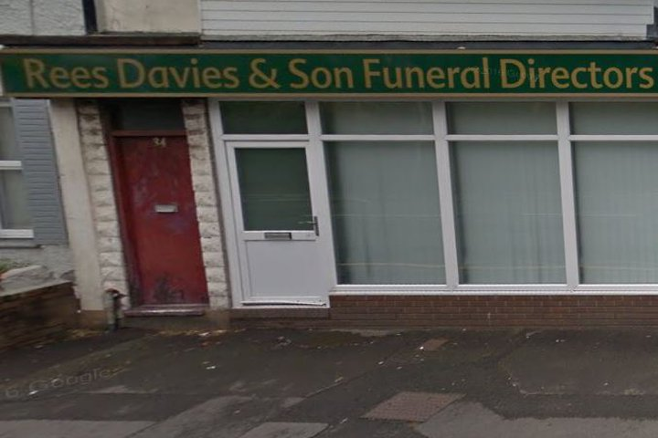 Rees Davies & Son Funeralcare, Port Tennant