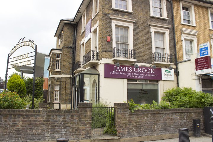 James Crook Funeral Directors, Kilburn