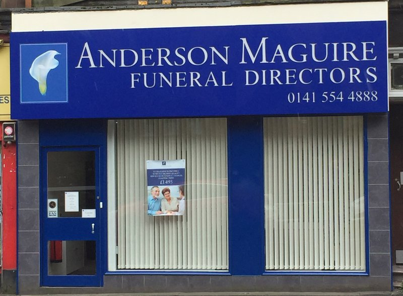 Anderson Maguire Alexandra Parade, City of Glasgow, funeral director in City of Glasgow