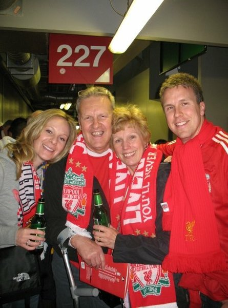 A trip to Anfield in 2009. Liverpool 4 - Arsenal 4