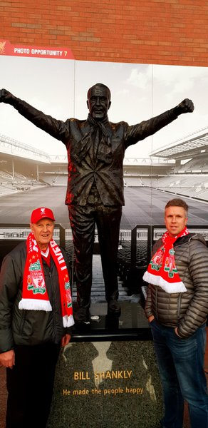 Phil, Dad and Shankly
