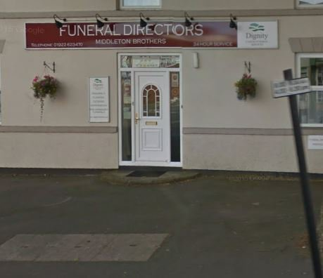 Middleton Brothers Funeral Directors, West Midlands, funeral director in West Midlands