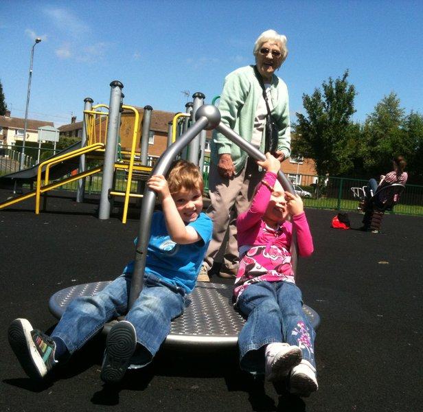 Fun times with Nan.    :)