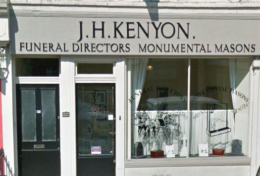 J H Kenyon Funeral Directors, Kilburn