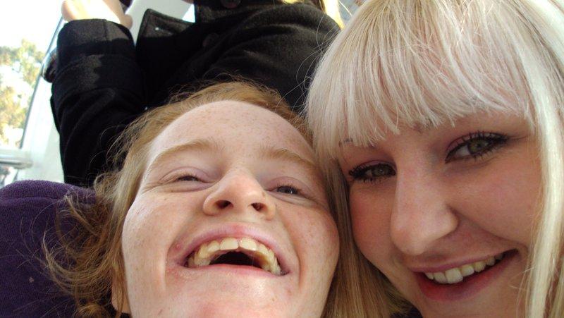 Happy Happy Mirren with Ashley