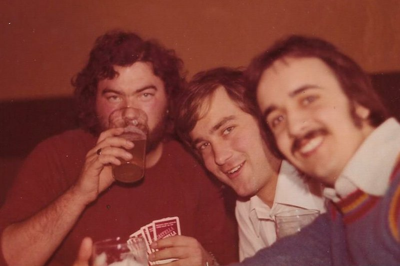 Walsall Away trip 1975