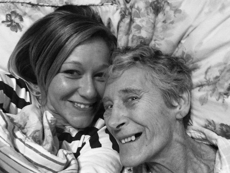 Sleep over times with grandma.
