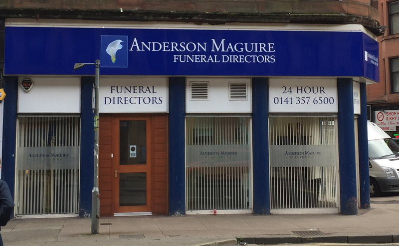 Anderson Maguire Partick, City of Glasgow, funeral director in City of Glasgow