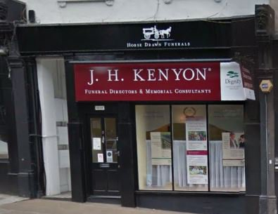 J H Kenyon Funeral Directors, Hampstead