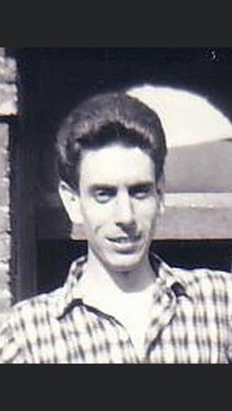 Dad at 69 Talbot road as a very young man