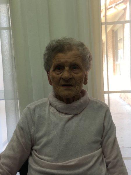 Gertrud Klinicki at Estia Nursing Home October 2016.
