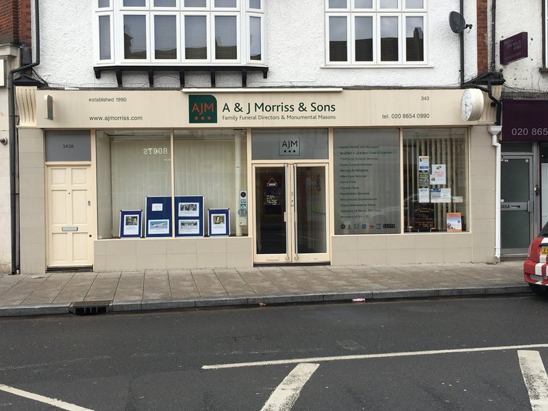 A & J Morriss & Sons, London, funeral director in London