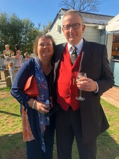 A beautiful photo taken at our wedding in September. Such a bright bubbly person, you will be truly missed by all xxx