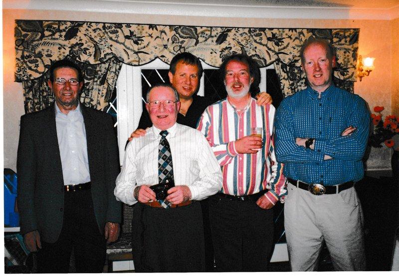 Gordon Reg Peter Dennis and David Gleeson