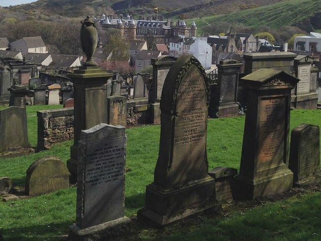 Cemetery in the UK