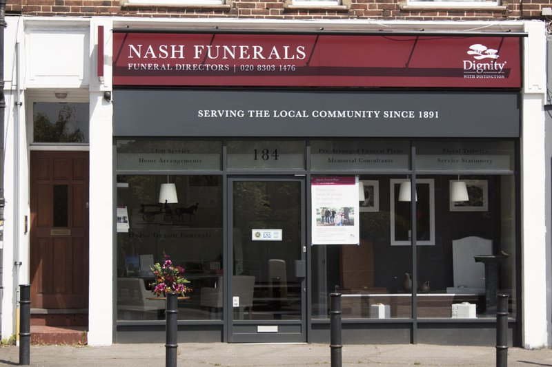 Nash Funeral Directors, Welling, London, funeral director in London
