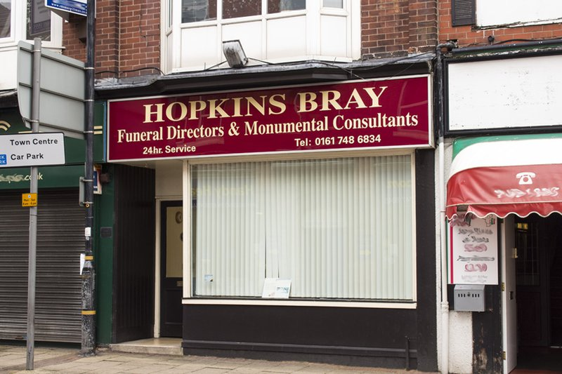 Hopkins Bray Funeral Directors, Manchester, funeral director in Manchester