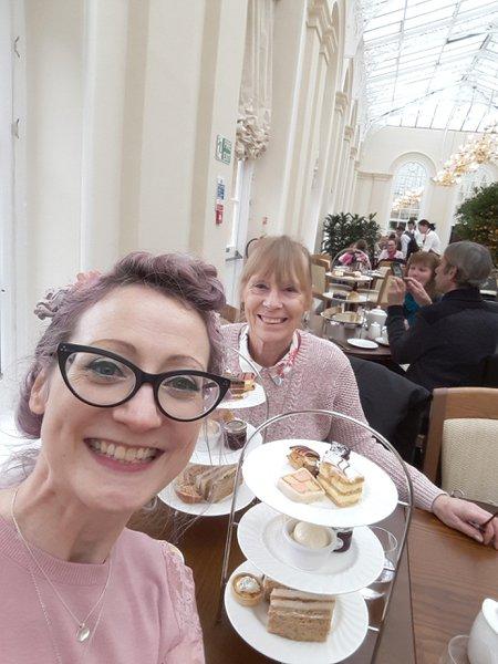 Afternoon tea at The Orangery Blenheim Palace. Mum's birthday, 3rd Feb 2018.