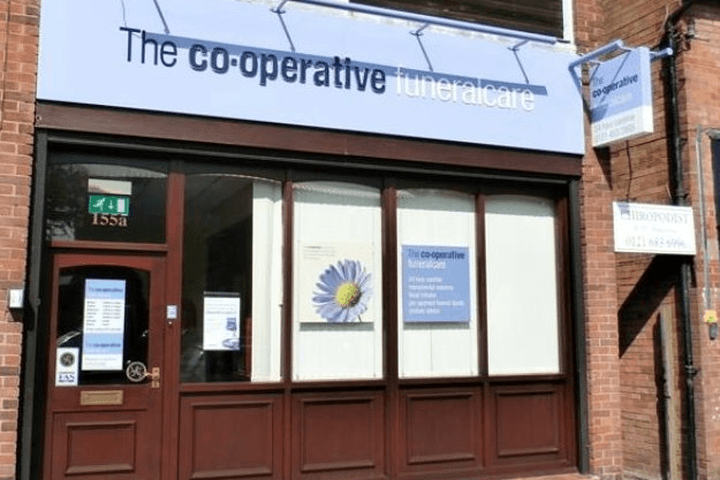 The Co-operative Funeralcare Rubery