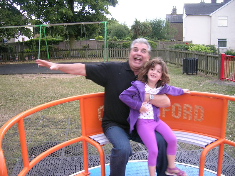 So sad about Uncle Frank, especially just after the passing of my own little girl. Frank was always our fun uncle: so many memories of him making us giggle when we were kids! So glad he got to meet Allie a couple of times (pic). xxx to the family. ❤️